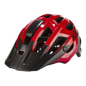 Kask Rex Kask rowerowy czerwony/czarny